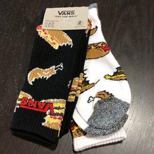 Vans Men's Crew Socks Pack of Two Shoe size 9-13